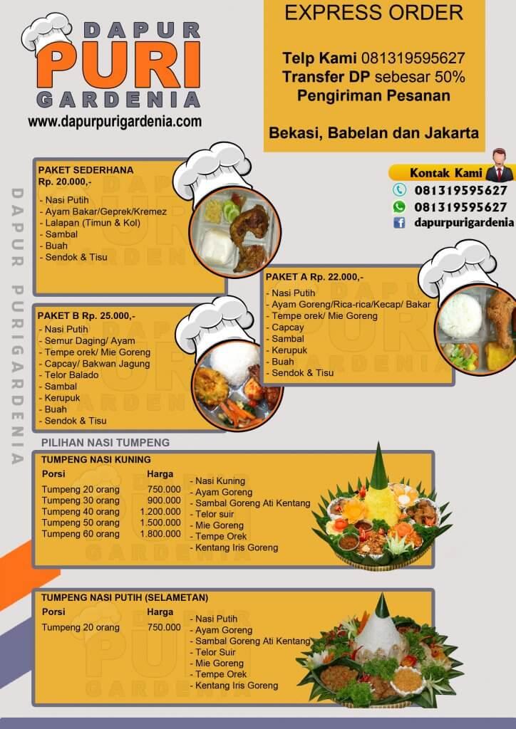 Brosur Catering Bekasi