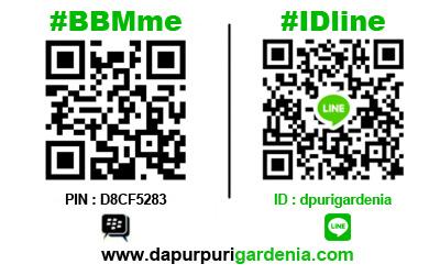 Scan Barcode BBM dan Line Catering Bekasi