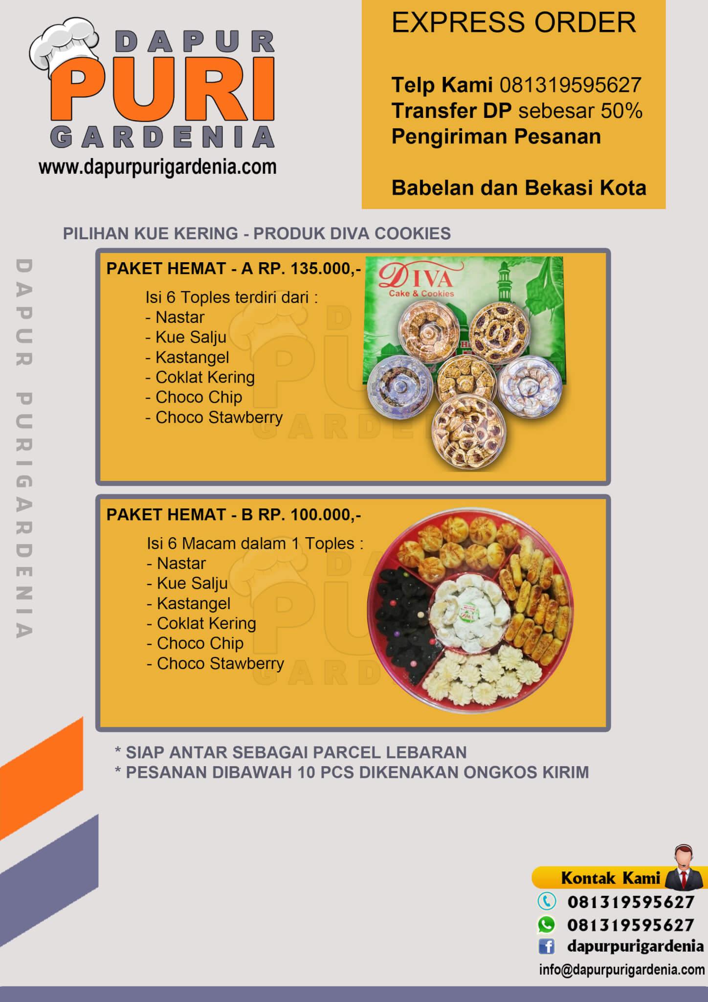 Pesan Kue Kering Lebaran 081319595627 Catering Bekasi Jakarta