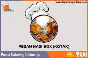 Pesan Nasi Kotak (Box)