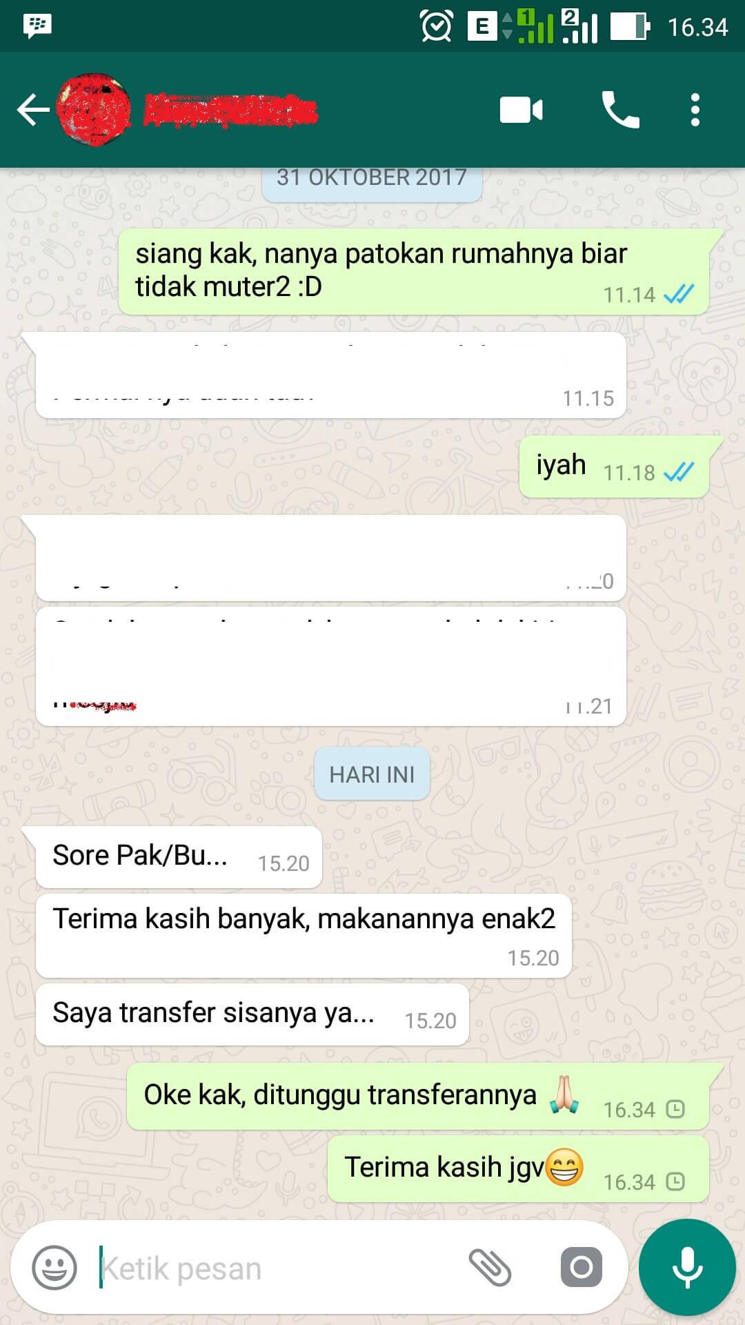 Testimoni Vivin Bekasi Timur