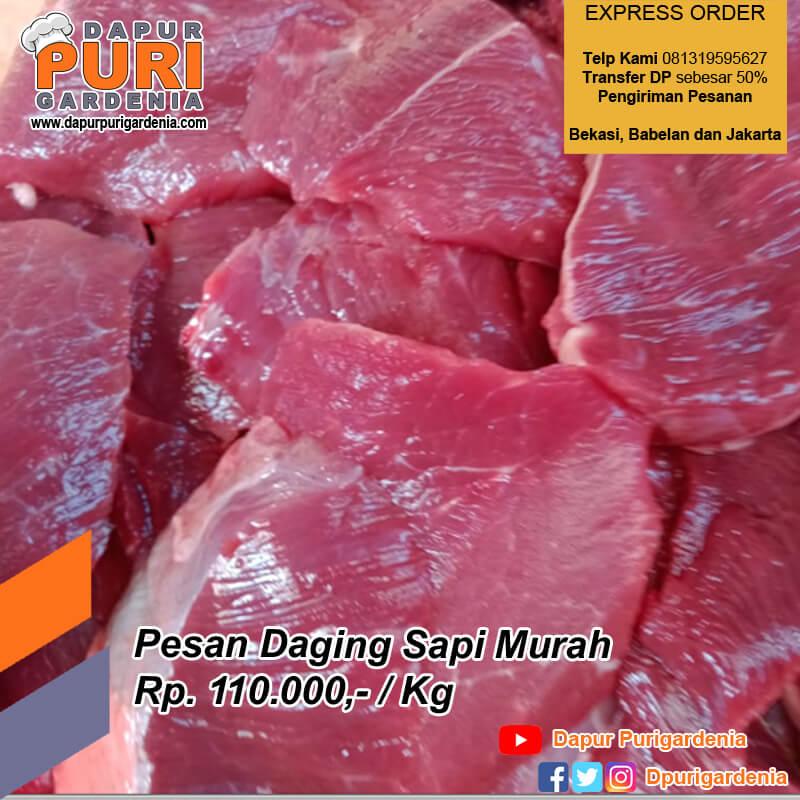 Pesan daging sapi murah