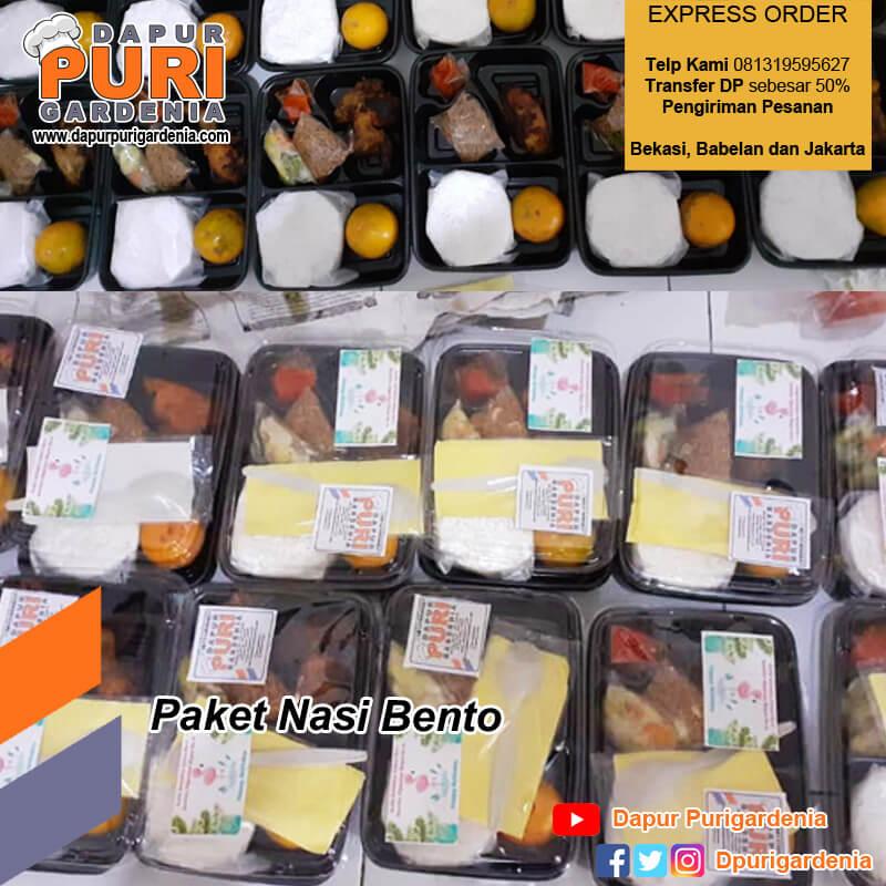 Paket Nasi Bento Bekasi