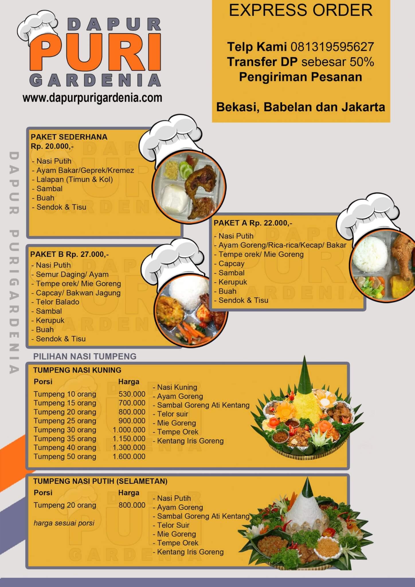 Brosur Catering